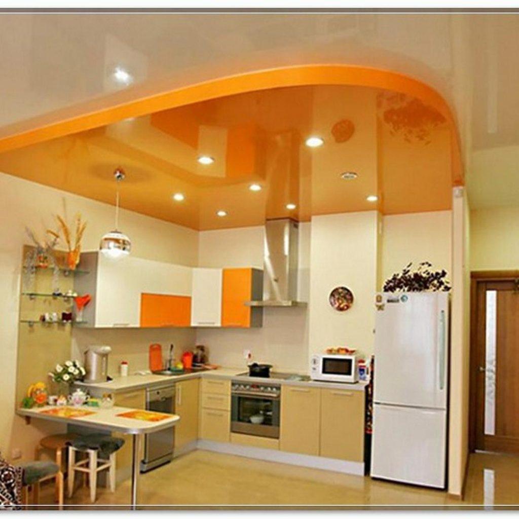 натяжные потолки на кухню сергиев посад