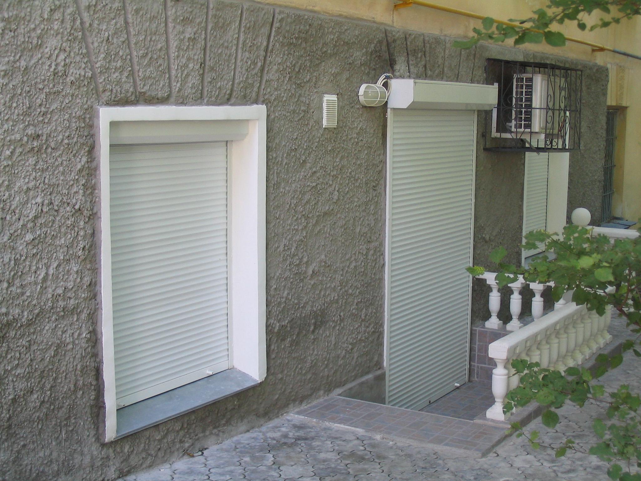 рольставни на окна и двери сергиев посад